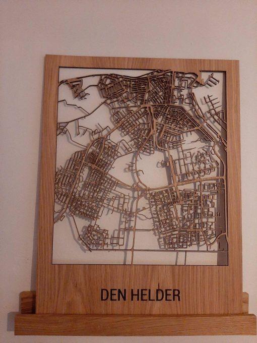 Houtenstadskaart Eikenhout