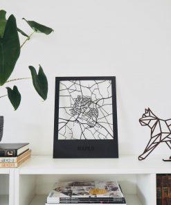 Ruurlo houten stadskaart